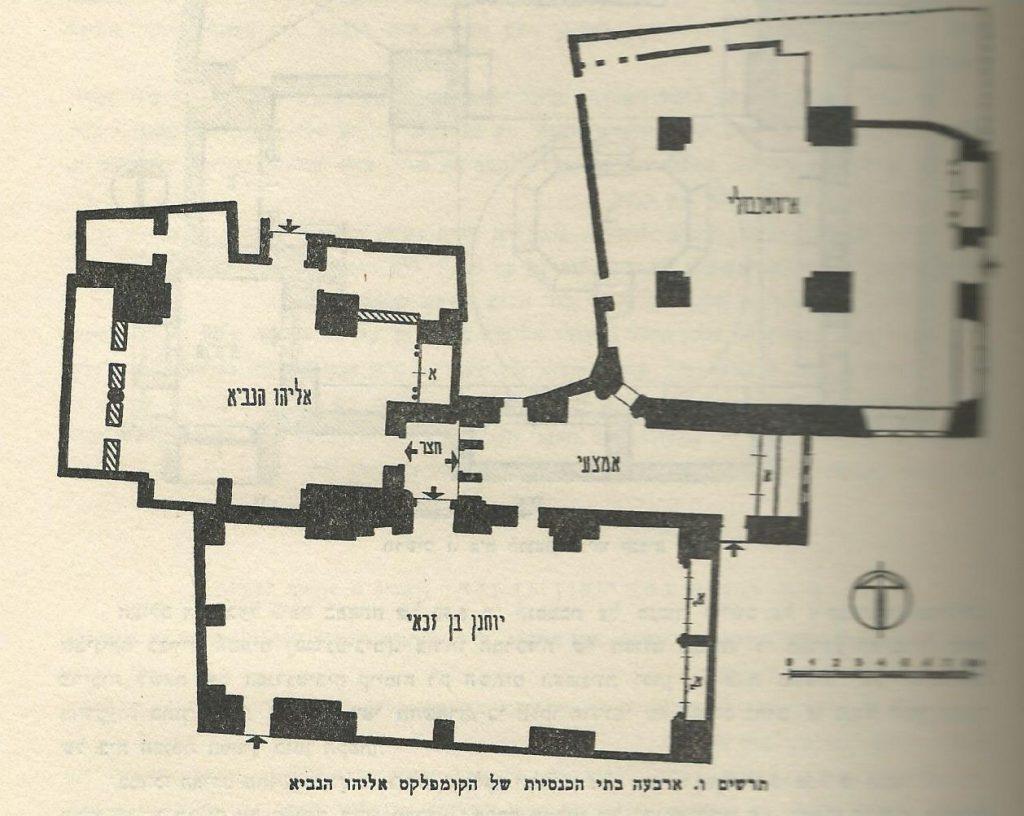 תכנית ארבעת בתי הכנסת הספרדיים- ירושלים - רבן יוחנן בן זכאי - פינקרפלד