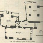תכנית ארבעת בתי הכנסת הספרדיים- ירושלים - רבן יוחנן בן זכאי - פינקרפלד © <i> synagogues.kinneret.ac.il </i>