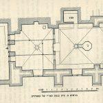 תכנית בית כנסת קרלין- טבריה- פינקרפלד © <i> synagogues.kinneret.ac.il </i>