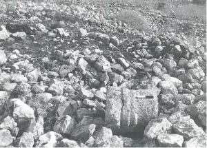 Base IAA survey (see link below) map 18 site 187 fig. 2, courtesy of Yossi Stepanski and the Israel Antiquities Authority © <i> synagogues.kinneret.ac.il </i>