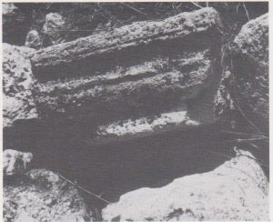 Architectural fragment Ilan 1991: 125, courtesy of Almoga Ilan © <i> synagogues.kinneret.ac.il </i>