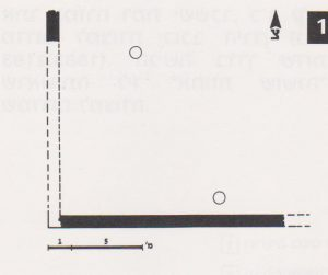 Schematic plan Ilan 1991: 125, courtesy of Almoga Ilan © <i> synagogues.kinneret.ac.il </i>