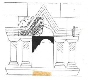 מעוז 1995, לוח 7.3 Maoz 1995, Plate 7, Fig. 3 © <i> synagogues.kinneret.ac.il </i>