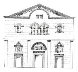 Maoz 1995, Plate 14, Fig. 1 © <i> synagogues.kinneret.ac.il </i>