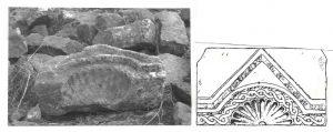 ציור נ' אביגד, צילום שי שוויג, באדיבות המכון לארכיאולוגיה, מעוז 1995, לוח 20.5 © <i> synagogues.kinneret.ac.il </i>
