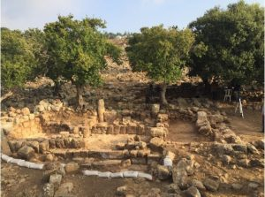 General of structure, looking north (Courtesy of M. Aviam, all rights reserved to Aviam) © <i> synagogues.kinneret.ac.il </i>